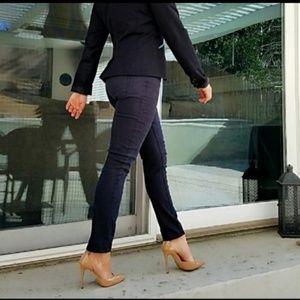Free People》Black Skinny Stretch Jeans 26